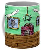 Stick Cats #1 Coffee Mug