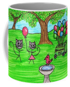Stick Cats #7 Coffee Mug
