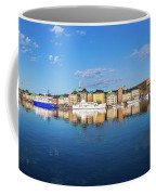 Stockholm Old City Sunrise Reflection In The Baltic Sea Coffee Mug