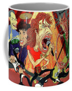 Stones On Stage - The Rolling Stones Coffee Mug