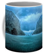 Storm Clouds Invade Ha Long Bay Blue Rain  Coffee Mug