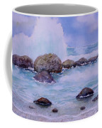 Stormy Shore On Nisyros Greece Coffee Mug