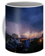 Stormy Weather Over The Small Town Coffee Mug