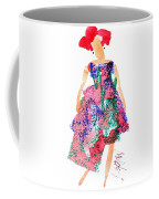 Strawberry Dress Coffee Mug