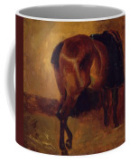 Study For Bay Horse Seen From Behind Coffee Mug