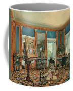 Study In Palais Rasumofsky On Landstrasse In Vienna        Coffee Mug