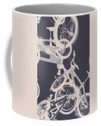 Stunt Bike Trickery Coffee Mug