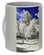 Summer Park In Infrared Coffee Mug