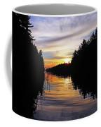 Sundown On The River Coffee Mug