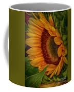 Sunflower Beauty Coffee Mug by Judy Hall-Folde