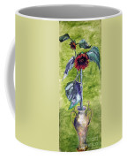 Sunflowers In A Vase Coffee Mug