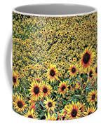 Sunflowers In Kansas Coffee Mug