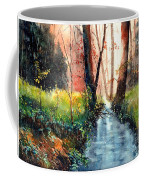 Sunlight Colorful Path Coffee Mug