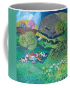 Sunny Suburban Sunday Coffee Mug