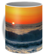 Sunrise First Day Coffee Mug by Mike Hudson