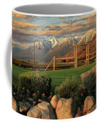 Sunrise In Carson Valley Coffee Mug