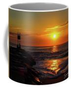 Sunrise Over Indian River Inlet Coffee Mug