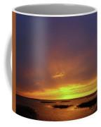 Sunset At Cheyenne Bottoms -02 Coffee Mug by Rob Graham