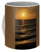 Sunrise Birds North Carolina Coffee Mug