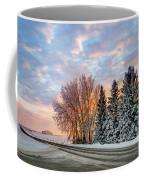 Sunset In Winter Coffee Mug