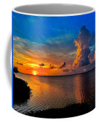 Sunset On Cudjoe Bay 8584 Coffee Mug