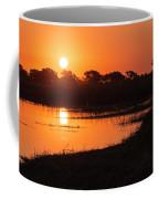 Sunset On The Chobe River Coffee Mug