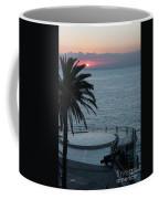 Sunset Over A Balcony Coffee Mug