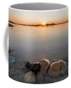 Sunset Over Platte River Coffee Mug