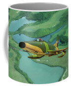 Super Sabres Over Vietnam - Oil Coffee Mug