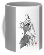 Surprised Cat Coffee Mug
