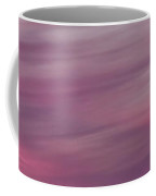Surreal Red Twilight Sky Panorama Above Mountains On The Pacific Coffee Mug