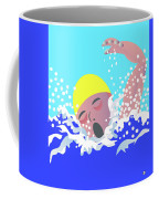Swimmer Coffee Mug