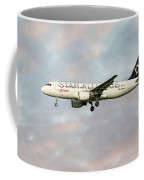 Swiss Star Alliance Livery Airbus A320-214 Coffee Mug