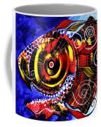 Swollen Red Cavity Fish Coffee Mug