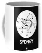 Sydney White Subway Map Coffee Mug