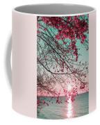 Teal And Fuchsia - Autumn Sunrise Reimagined Coffee Mug
