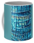 Teal Palm Bark Coffee Mug by Cindy Greenstein