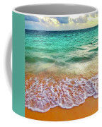 Teal Shore  Coffee Mug by Cindy Greenstein