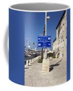Tel-aviv Jaffa Road Sign Coffee Mug