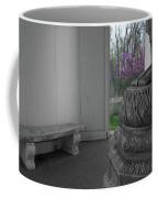Temple Budding Coffee Mug by Dylan Punke