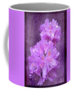 Testrured Rhododendrons Coffee Mug by Susan Leonard