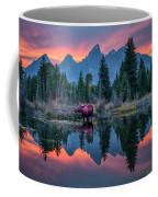 Teton Moose Coffee Mug