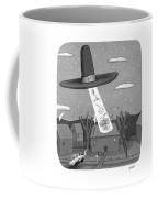 Thanksgiving Aliens Coffee Mug