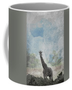 The African Giraffe Coffee Mug by Mary Lee Dereske