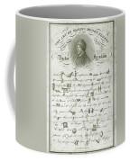 The Art Of Making Money Coffee Mug