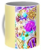 The Beach Below Coffee Mug
