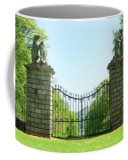 The Bear Gates At Traquair Coffee Mug
