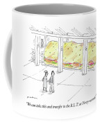 The Blt At Forty Second Coffee Mug
