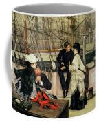 The Captain And The Mate, 1873 Coffee Mug