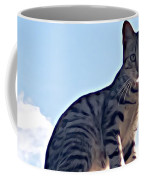The Cat Coffee Mug by Lucia Sirna